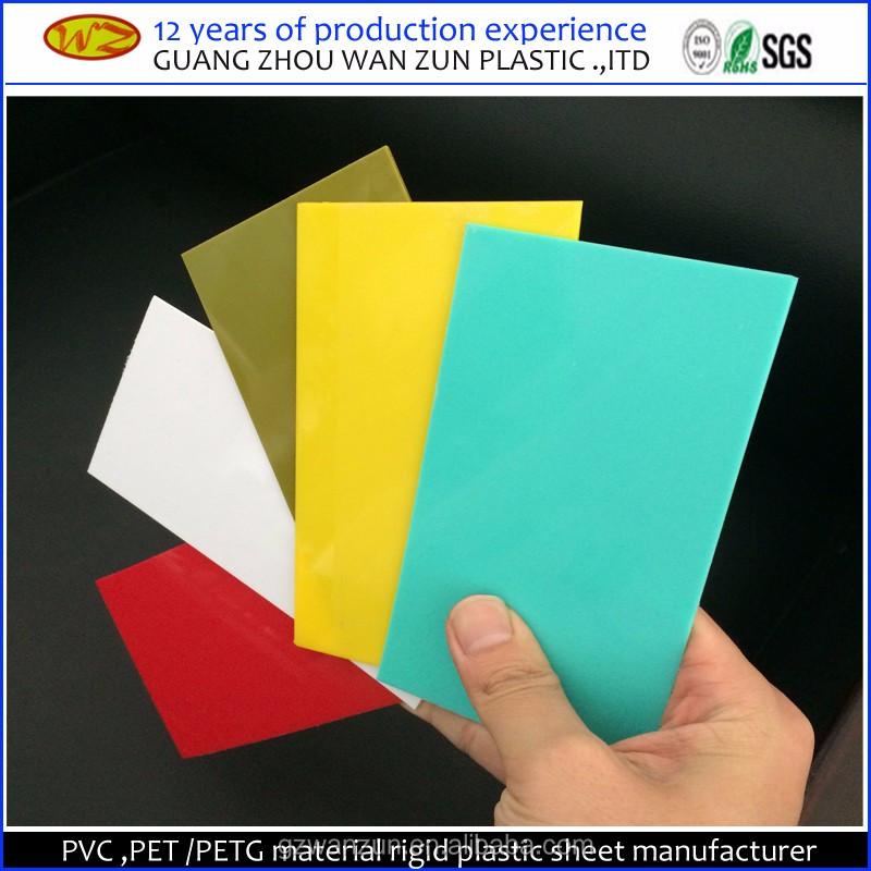 PVC <strong>Material</strong> double sided self adhesive pvc rigid solid sheets