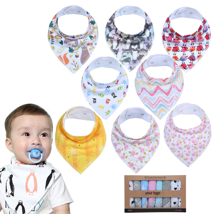 Bibs & Burp Cloths Mother & Kids 100% Cotton Baby Bib Three-dimensional Animal Modeling Soft Baby Bib Cute Unisex Newborn Burp Cloths Profit Small