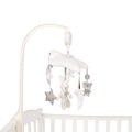 Baby Crib Musical Mobile Cot Bell Music Box with Holder Arm Baby Bed Hanging Rattle Toys