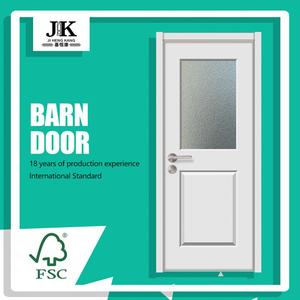 JHK-French Door barn door lighting automated sliding door