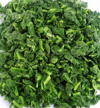 High quality organic frozen spinach