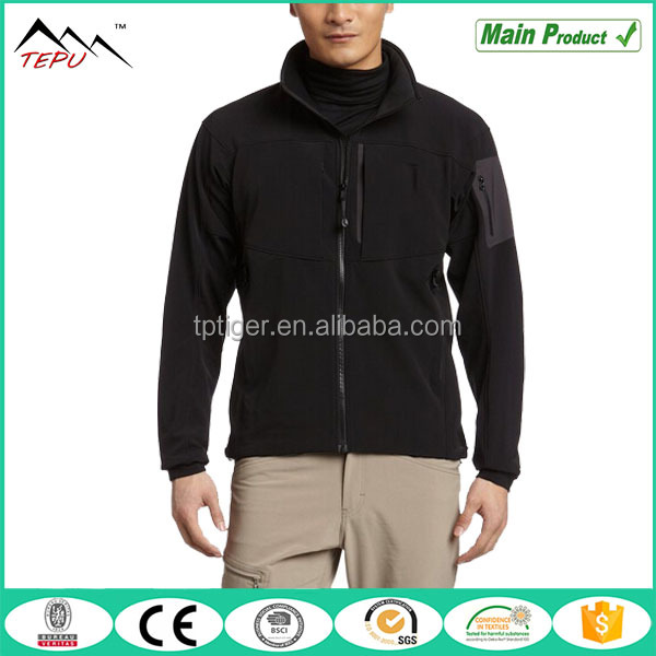 2016 Mens Outdoor Fleece Lined Cheap Windbreaker Softshell jacket
