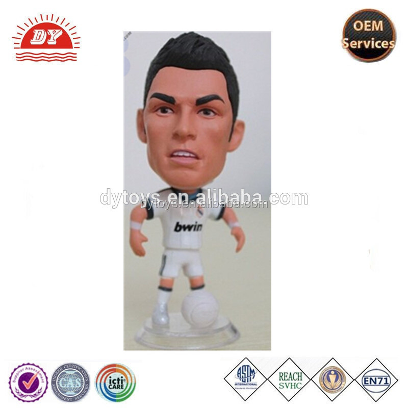 2017 customized 12 inch soccer player action figures