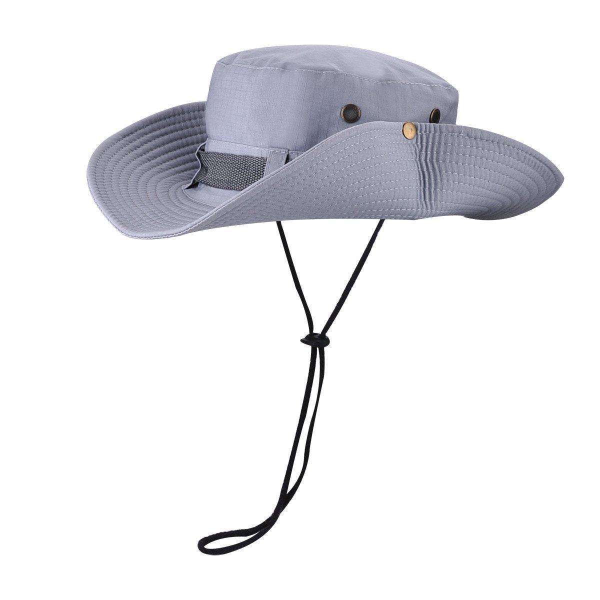 42da4c9510907 Get Quotations · Wide Brim Boonie Fishing Hat