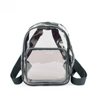Custom wholesale clear plastic backpack children transparent PVC school bag