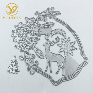 Exquisite custom etched metal planer custom craft cutting dies