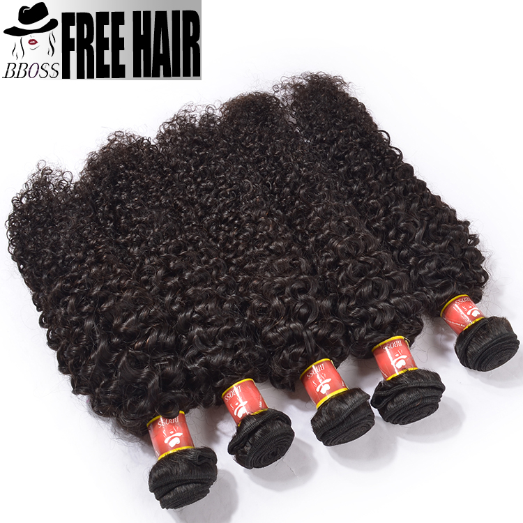 high quality afro kinky hair full cuticle kinky curly micro bead hair extension machine made kinky curl raw human hair weave