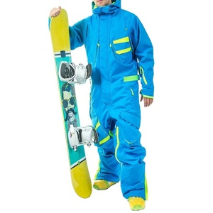 New Design Ski Jumpsuit Fashion One Piece Snow Suits Adults