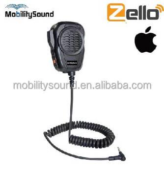Heavy Duty Speaker Microphone For Zello Ios Android Walkie Talkie App - Buy  Zello Ptt Headset,Heavy Duty Weatherized Palm Shoulder Handset For Zello
