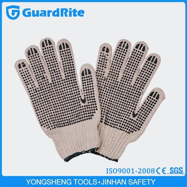 Guardrite Brand Natural White Cotton Gloves Cotton Lycra Gloves C ...