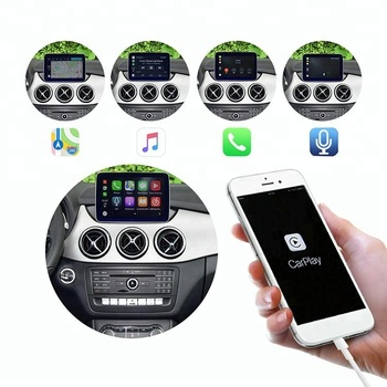 Smartauto smart box for B-M-W 5 Series NBT Apple carplay adapter Support google music