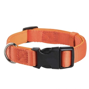 nylon webbing dog collars and leash sets