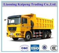 SHACMAN F2000 3 axles 10 ton tipper truck/dumper/dump truck