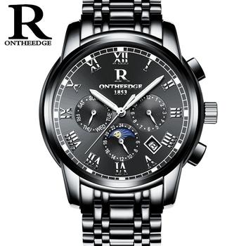 Hombres Buy reloj Reloj 016 Inoxidable Hombre De Para Automático Mecánico Ontheedge Acero RqALc453j