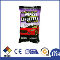 Car cleaning wet wipe china car care products