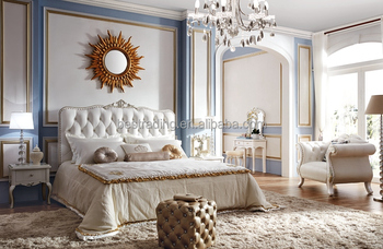 France Style Modern Bedroom Set Italian Neo Classic Bedroom Set