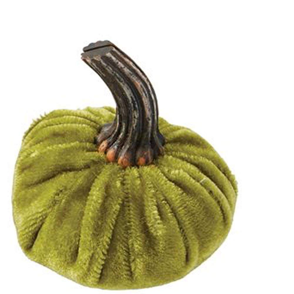 Mud Pie 4535002G Pumpkin Placecard, Green
