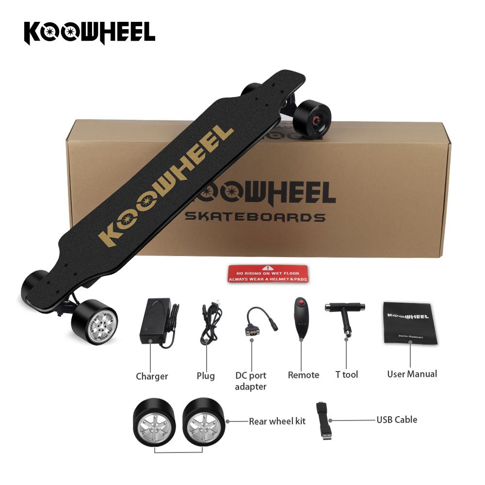 Factory price Kooboard dual hub electric skateboard motor kit 700w with great, Black;red;blue;green;orange;white