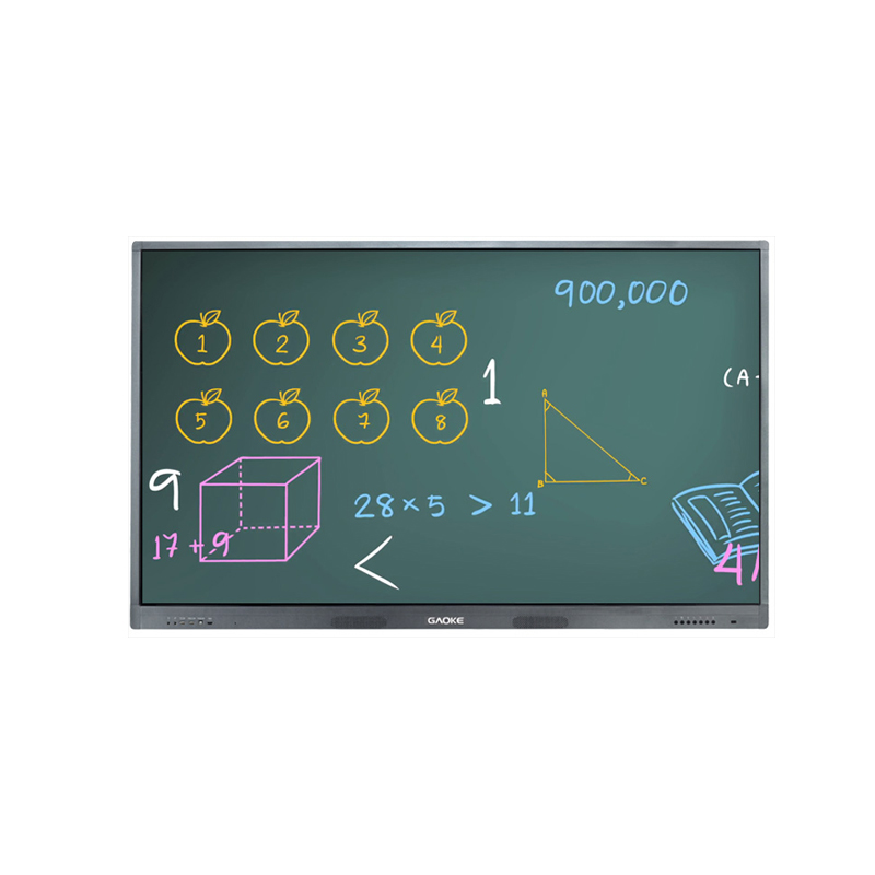Hot GK880T 55 65 70 86 98 inch size 1080P 4K resolution 10 points touching lcd interactive smart board touch <strong>tv</strong>