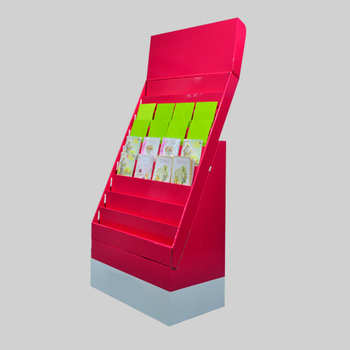 Wow Cardboard Book Display Standcountertop Rack Display For