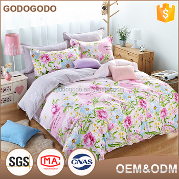 Good Quality Home Choice Luxury 6Pcs Eco Friendly King Size Children 100%  Cotton Bedsheets
