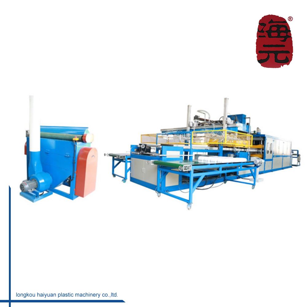 PS Polystyreen Schuim Plaat Making Machine Plastic Vacuümvormmachine