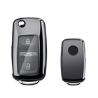 TPU Smart Key Shell for VW Passat Golf Jetta NEW Custom Car Key Covers