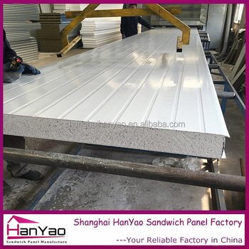 Dubai EPS Sandwich Panel For Poultry House Prefabricated Sandwich Panel  Garage