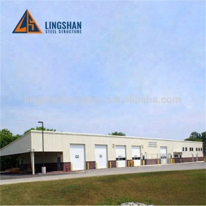 Most Popular Ready Built Easy Build modular prefabricated house warehouse the factory building