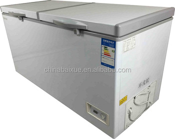 390l hot sale top open large capacity chest freezer for commercial use bdbc - Chest Freezers On Sale