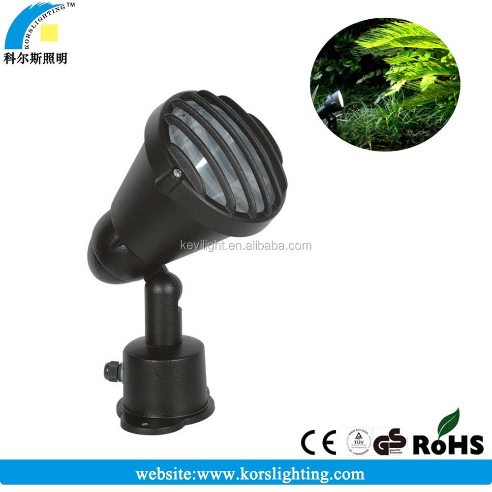 LED spot light 15w,IP65 garden lawn spot light ,LED outdoor multi-color landscape lighting with TUV