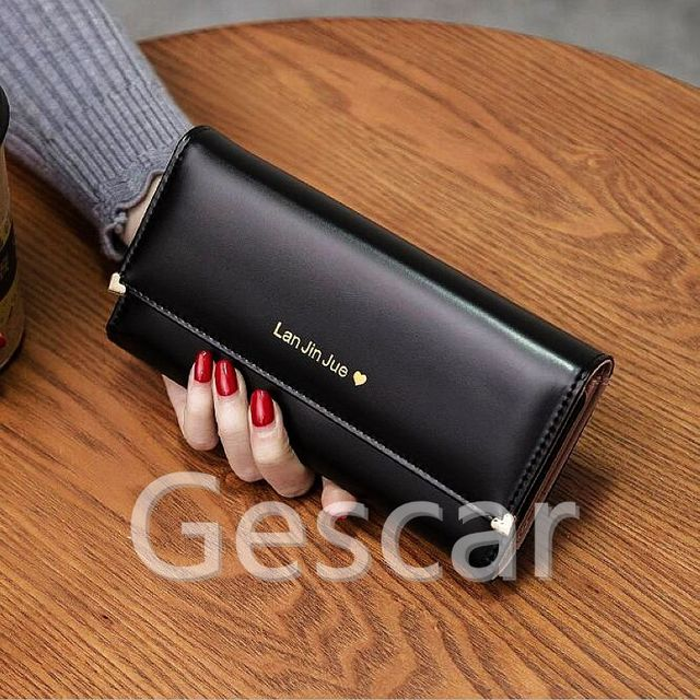 518d51e5a8 2017 Best Deal Fashion Handbags Lady Women Wallets Bag Popular Purse Long  PU Handbags Card Holder