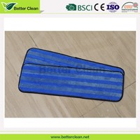 Stripe microfiber material cleaning replacement disposable mop head