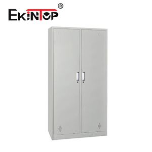 Ekintop 2 door a3 locking insulated steel filing storage cabinet with dimension