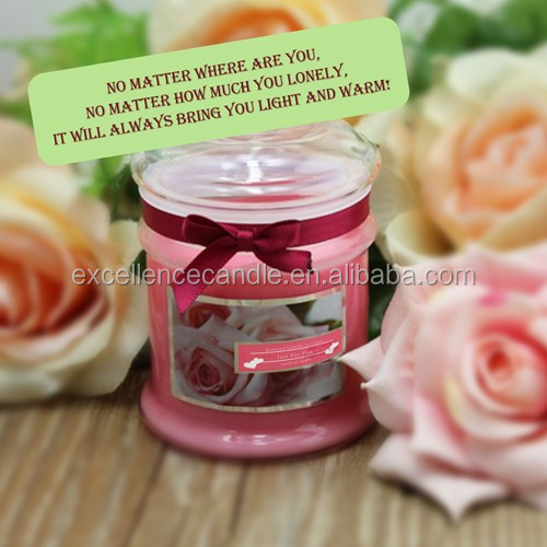 Three-wick aroma candle / scented soybean candles in tin jars