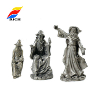 Custom made Metal pewter Wizard Custom Figurine