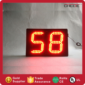led days countdown clock dot matrix 2digit days countdown timer