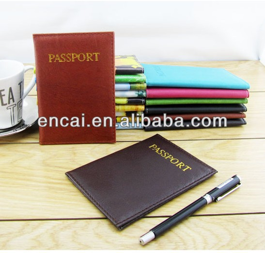 Encai Wholesale World Map Journey Organizer Passport Cover/Indigo Bankbook Case/Stocked Tickets&Cards Holder