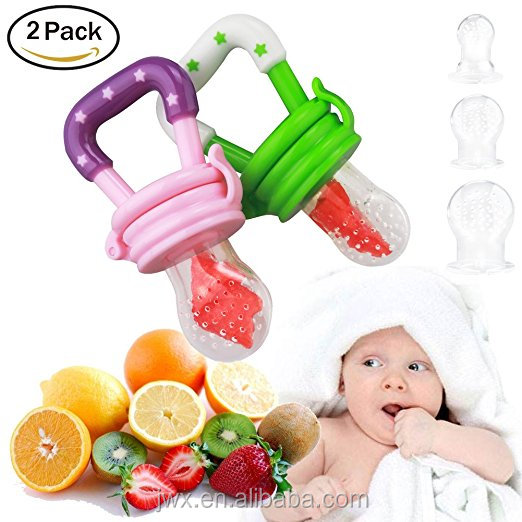 Food Grade Baby Chew Silicone Food Supplier For Fruits And Vegetables Infant Teething Feeder Silicone Baby Food Feeder