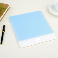 Custom Slide-proof-Stylish-Acrylic-Plexiglass-Matte-Surface-Game-Desk-Frosted-Mouse-Pad-Mat-Design-For-Apple