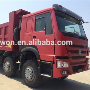 SINOTRUK 380HP 8*4 used tipper truck prices sale in dubai