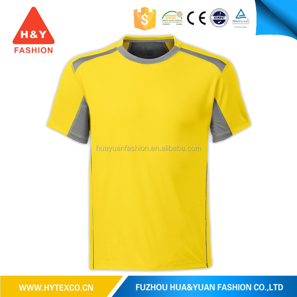 dye sublimated 100% polyester sport dry fit t shirt---7 years alibaba experience