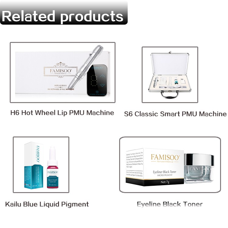 Customized Classic Permanent Makeup Suit Intelligent Pmu Machine For Tattoo  With Pigment - Buy Permanent Makeup Suit,Tattoo Makeup Suit,Tattoo Makeup