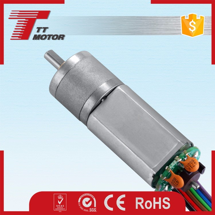worm geared dc motor with encoder