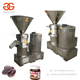Electric Edible Liquor Cacao Bean Paste Grinding Wet Grinder Beans Colloid Mill Equipment Pure Cocoa Butter Making Machine