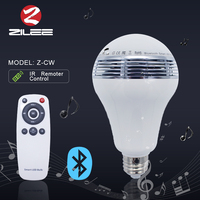 New design 9w led light bulbs,smart bluetooth musical wifi controlled led light,colorful RGBW dimmable lamp
