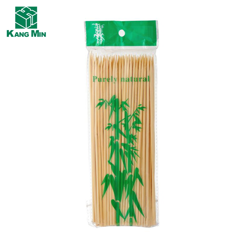 wholesale market factory bamboo stick BBQ skewer fruit stick