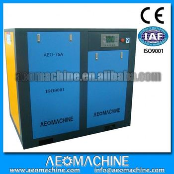 Screw Air Compressor Special For Dildo Machine