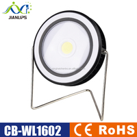 Rechargeable 3W COB LED 200 lumens Work Lamp Solar charge and USB charge indoor and outdoor LED Work Lamp