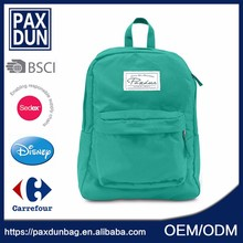 Alibaba Modern New Style School Bag For Girl Green